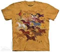 Zdjęcie The Mountain - Horses And Sun - T-shirt