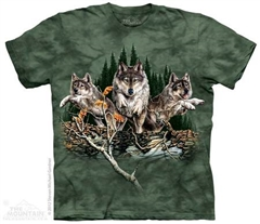 Zdjęcie The Mountain - Find 12 Wolves  - T-shirt
