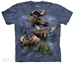 Zdjęcie The Mountain - Moose Collage - T-shirt