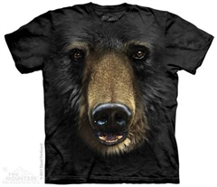 Zdjęcie The Mountain - Black Bear Face - T-shirt