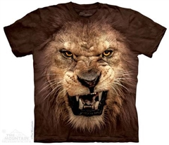 Zdjęcie The Mountain - Big Face Roaring Lion - T-shirt