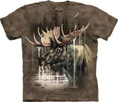 Zdjęcie The Mountain - Moose Forest - T-shirt