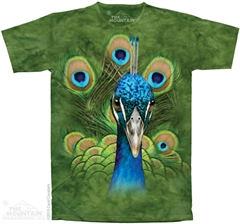 Zdjęcie The Mountain - Vibrant Peacock  - T-shirt