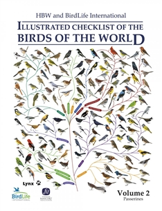 Zdjęcie Illustrated Checklist of the Birds of the World  2