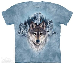 Zdjęcie The Mountain - Blue Moon Wolves - T-shirt