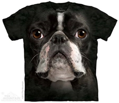 Zdjęcie The Mountain - Boston Terrier Face- T-shirt