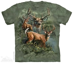 Zdjęcie The Mountain - Deer Collage- T-shirt