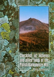 Zdjęcie Checklist of lichens and allied fungi of the Polish ...