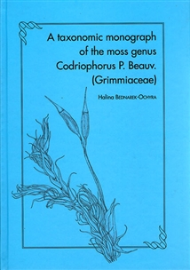 Zdjęcie A taxonomic monograph of the moss genus Codriophorus