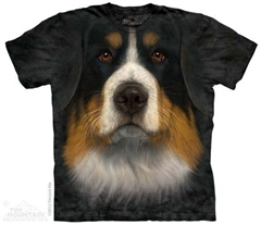Zdjęcie The Mountain - Bernese Mountain Dog Face  - T-shirt