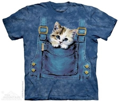 Zdjęcie The Mountain - Kitty Overalls - T-shirt