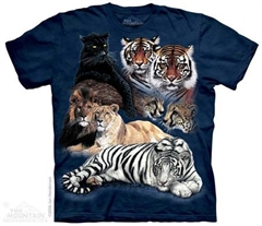 Zdjęcie The Mountain - Big Cat Collage  - T-shirt