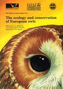 Zdjęcie Ecology and Conservation of European Owls