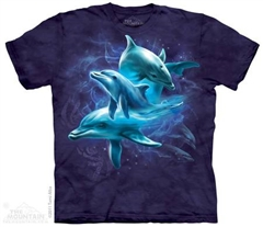 Zdjęcie The Mountain - Dolphin Collage- T-shirt