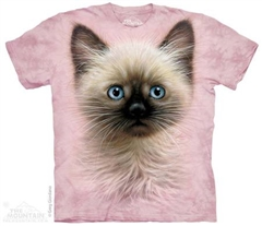 Zdjęcie The Mountain - Black & Tan Kitten - T-shirt