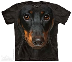 Zdjęcie The Mountain - Dachshund Face- T-shirt