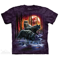 Zdjęcie The Mountain - Fire And Ice Wolves - T-shirt