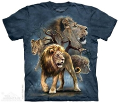 Zdjęcie The Mountain - Lion Collage - T-shirt