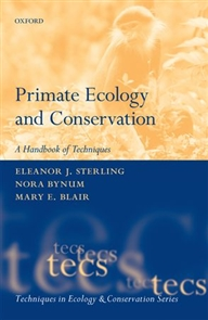 Zdjęcie Primate Ecology and Conservation