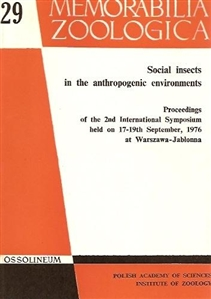 Zdjęcie Social insects in the anthropogenic ...