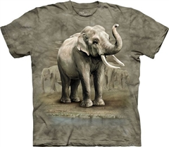 Zdjęcie The Mountain - Asian Elephants - T-shirt