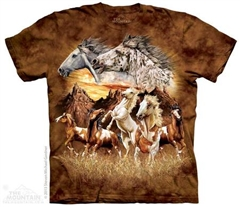 Zdjęcie The Mountain - Find 15 Horses  - T-shirt