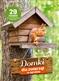 Domki dla zwierząt w ogrodzie