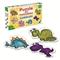 Dinozaury - puzzle dla maluszków