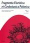 Fragmenta Floristica et Geobotanica Polonica, X/2003