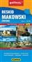 Beskid Makowsk (średni)i -mapa