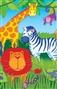 Obrus papierowy – afrykańskie zwierzęta
