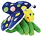 Motyl - pacynka