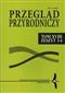 Przegląd Przyrodniczy XVIII/3-4/2007