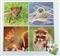 Puzzle - 4 zwierzaki (z foką)