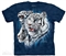 The Mountain - Find 9 White Tigers - T-shirt