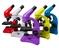 Mikroskop Levenhuk Rainbow 50L PLUS /czerwony