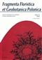 Fragmenta Floristica et Geobotanica Polonica, XI/1/2004