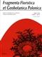 Fragmenta Floristica et Geobotanica Pol., XVII/1/2010