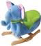 Bujaczek na biegunach z fotelikiem - słonik Trąbek