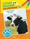Zwierzęta na wsi - czytanie, naklejanie, kolorowanie