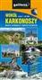 Wokół Karkonoszy - mapa atrakcji turystycznych