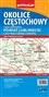Okolice Częstochowy - część zachodnia - mapa