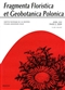 Fragmenta Floristica et Geobotanica Pol., XVI/2/2009