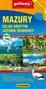 Mazury Szlak Krutyni - mapa turystyczna