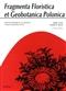 Fragmenta Floristica et Geobotanica Pol., XVII,2, 2010