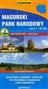 Magurski Park Narodowy mapa turystyczna