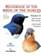 Handbook of the Birds of the World - Volume 11