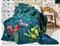 Dwustronna pikowana narzuta Kwiaty polne 150x200