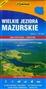 Wielkie Jeziora Mazurskie - mapa turystyczna