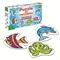 Podwodne zwierzątka - puzzle dla maluszków